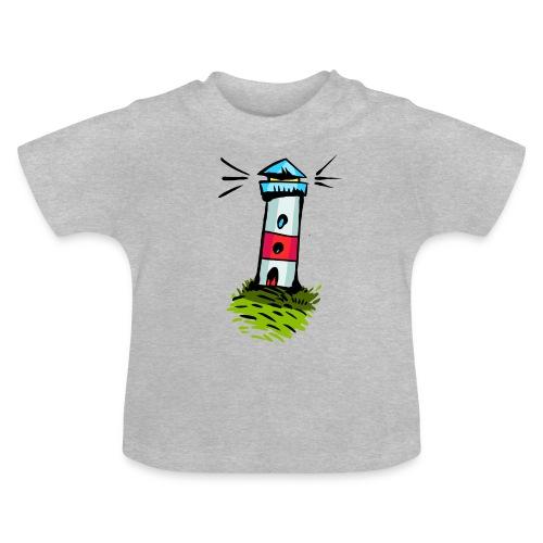 Leuchtturm Cartoon - Baby T-Shirt