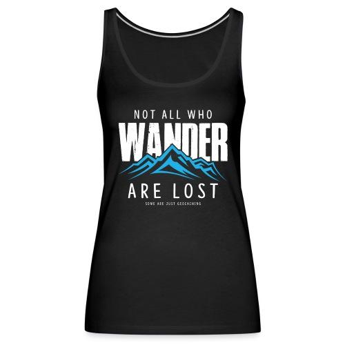 Who Wander (Female) - Vrouwen Premium tank top