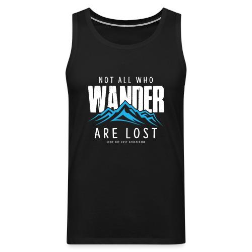 Who Wander (Male) - Mannen Premium tank top