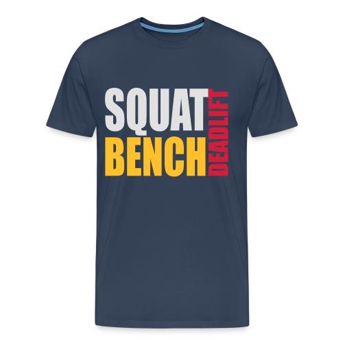 Squat Bench Deadlift - Men's Premium T-Shirt