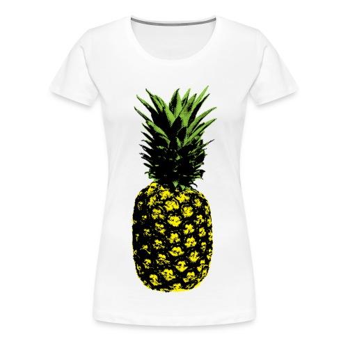 ananas popart - Women's Premium T-Shirt