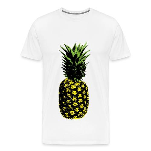 ananas popart - Men's Premium T-Shirt