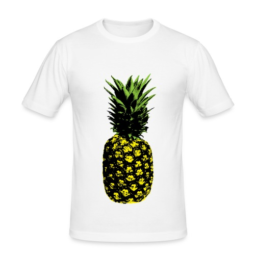 ananas popart - Men's Slim Fit T-Shirt