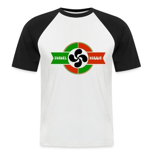 Croix du pays Basque - T-shirt baseball manches courtes Homme