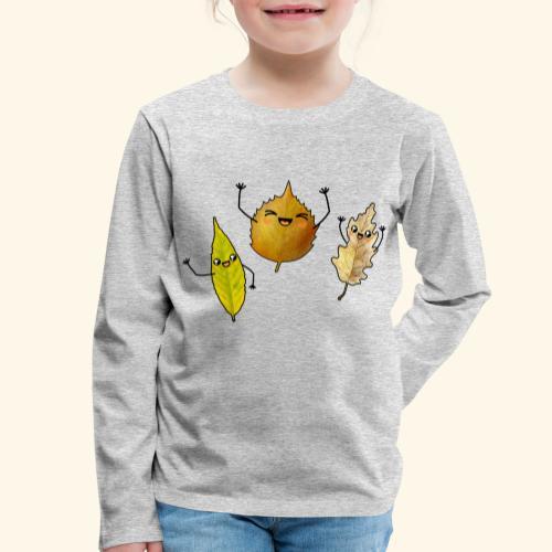 Kinder Premium Langarmshirt