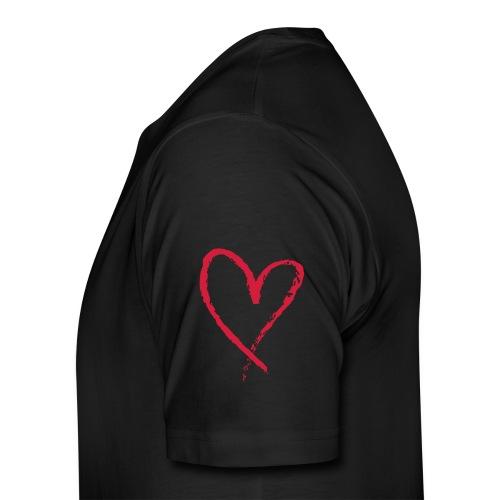 Men's Premium T-Shirt - #love #vape