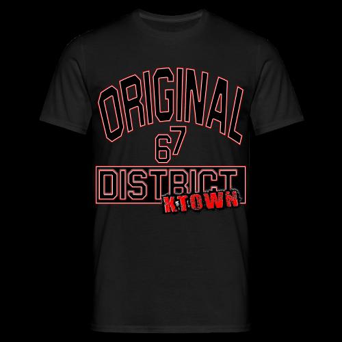 ORIGINAL DISTRICT KTOWN - Männer T-Shirt