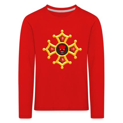 Croix Occitane - T-shirt manches longues Premium Enfant