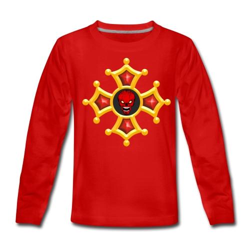 Croix Occitane - T-shirt manches longues Premium Ado