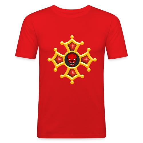 Croix Occitane - T-shirt près du corps Homme
