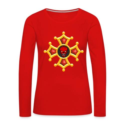 Croix Occitane - T-shirt manches longues Premium Femme