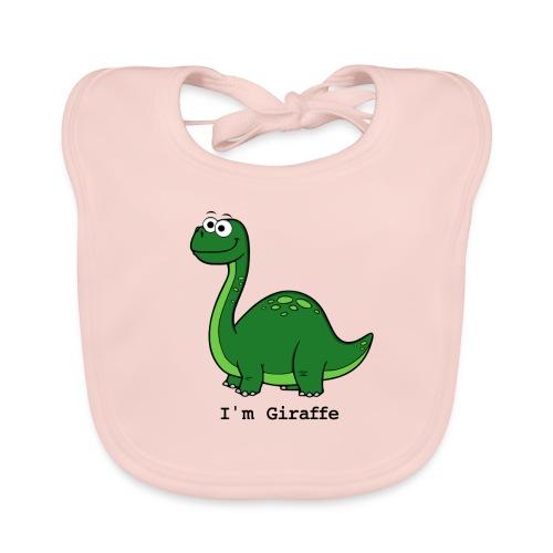 I'm Giraffe - Bavoir bio Bébé