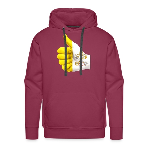 THUMBS UP FOR THE VATICAN FLAG - Men's Premium Hoodie