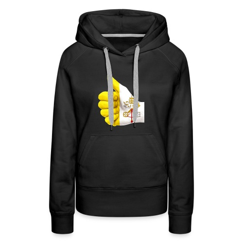 THUMBS UP FOR THE VATICAN FLAG - Women's Premium Hoodie
