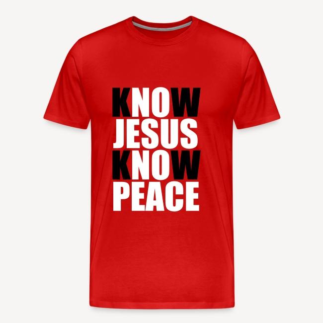 KNOW JESUS KNOW PEACE