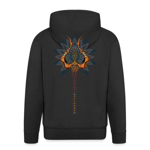 Trishula Hoodie by Rusty PsyFly - Men's Premium Hooded Jacket