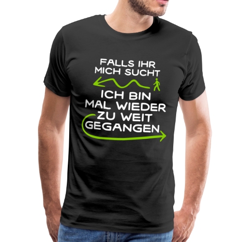 Feiern Party Alkohol Saufen Festival - Männer Premium T-Shirt