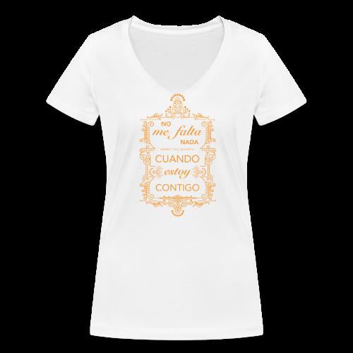 Nada - Women's Organic V-Neck T-Shirt by Stanley & Stella