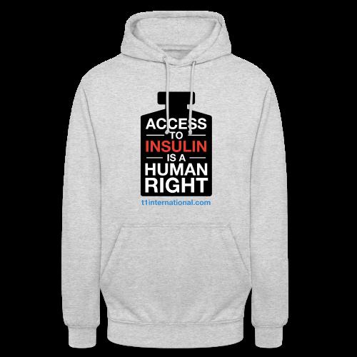 Unisex Access to Insulin hoodie - Unisex Hoodie