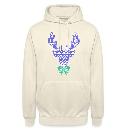The Reindeer UNISEX Hoodie (PREMIUM) - Unisex Hoodie