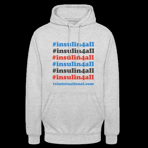 Unisex insulin4all hoodie - Unisex Hoodie