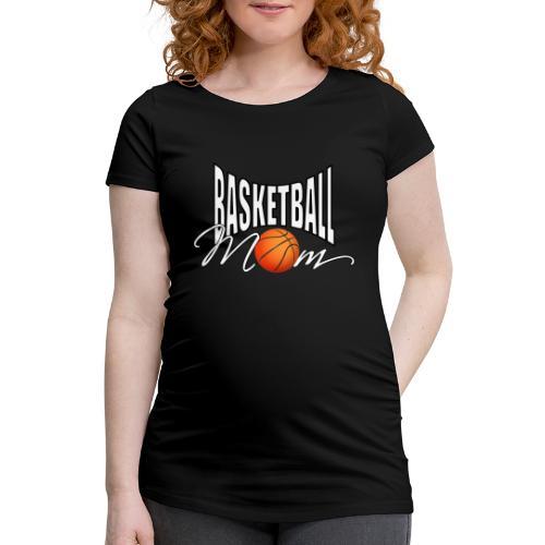 Basketball Mom - Frauen Schwangerschafts-T-Shirt