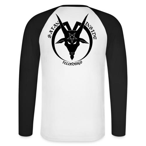 1st Sleeve - S.I.R - Men's Long Sleeve Baseball T-Shirt