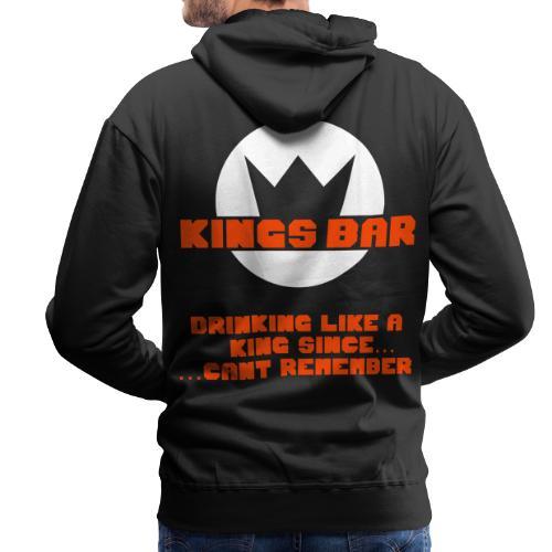 KINGS BAR MENS SHIRT  - Männer Premium Hoodie
