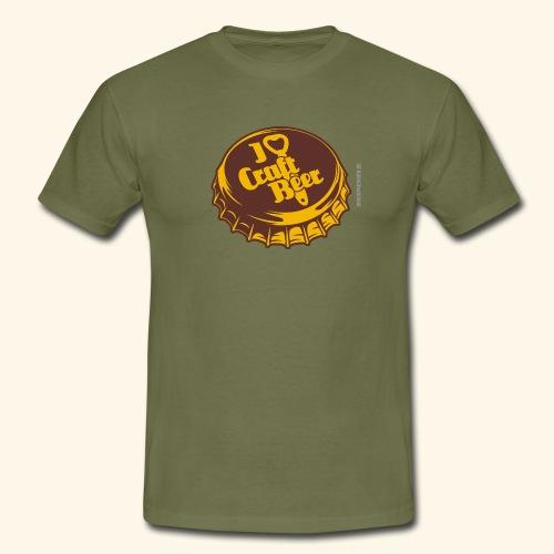 Craft Beer T-Shirt Design I Love Craft Beer