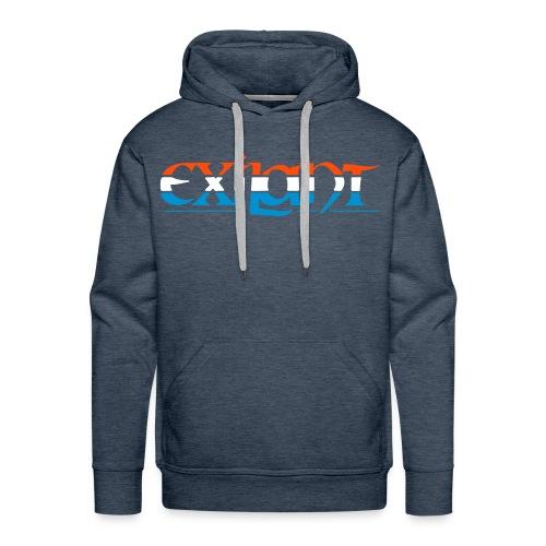 Exilant KPulli - PDV [PrakxExil] blue- grey  - Männer Premium Hoodie