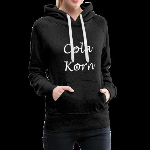 Cola Korn Frauen Hoodie Oktober Logo - Frauen Premium Hoodie