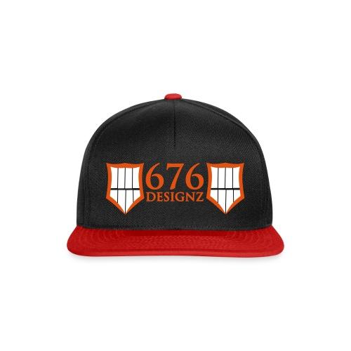 676 JoKeZz CAP [PrakxExil] black/ red  - Snapback Cap