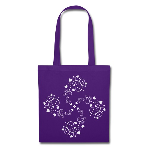 Basque hearts cross - Tote Bag