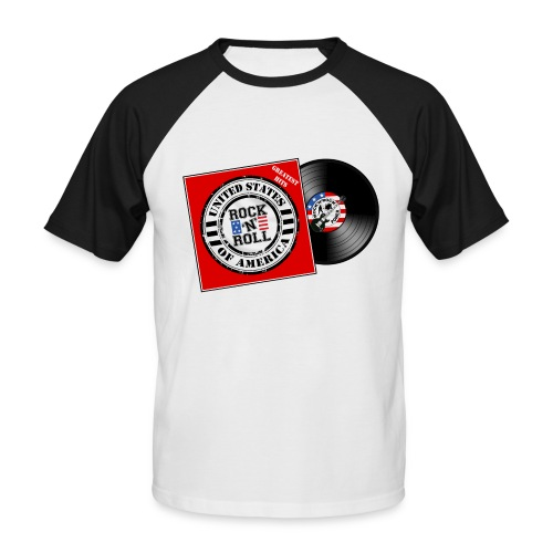 US music - T-shirt baseball manches courtes Homme