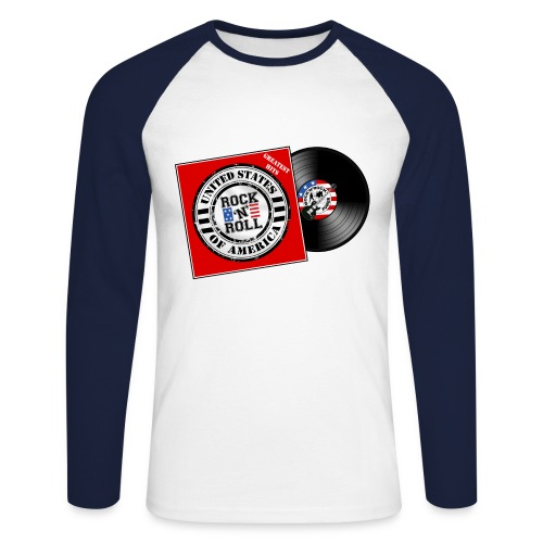 US music - T-shirt baseball manches longues Homme