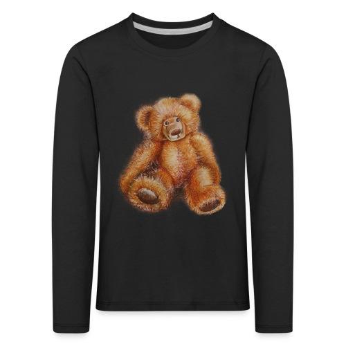 Teddybär - Kinder Premium Langarmshirt