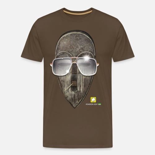 Masque Gabon Homme| DAF - T-shirt Premium Homme