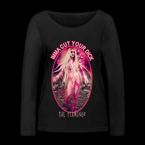 The Flamingo - Women's Organic Longsleeve Shirt by Stanley & Stella