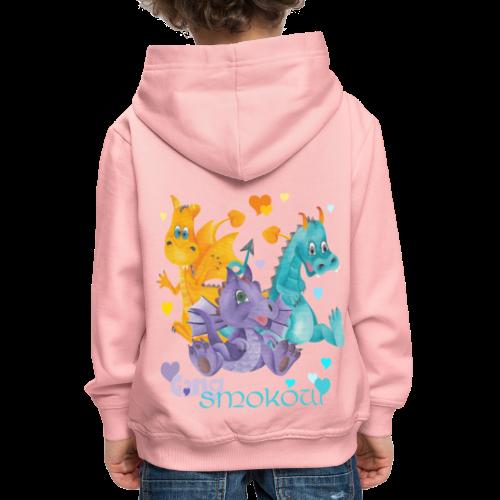 Gang Smoków - Bluza dziecięca z kapturem Premium