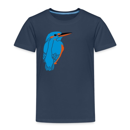 Eisvogel - Kids' Premium T-Shirt