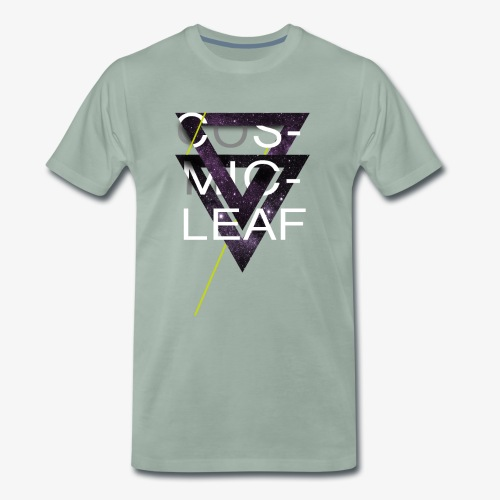 Cosmicleaf Triangle - Men's Premium T-Shirt