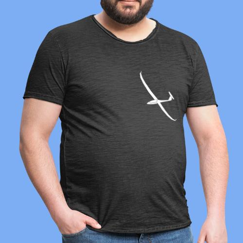 Segelflugzeug Arcus Segelflieger Geschenk T-Shirt - Men's Vintage T-Shirt