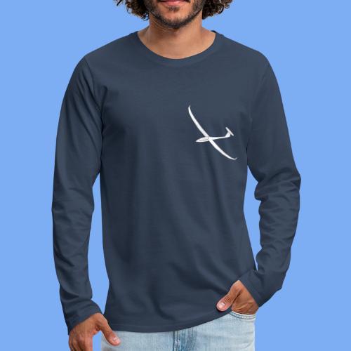 Segelflugzeug Arcus Segelflieger Geschenk Longsleeve Shirt - Men's Premium Longsleeve Shirt