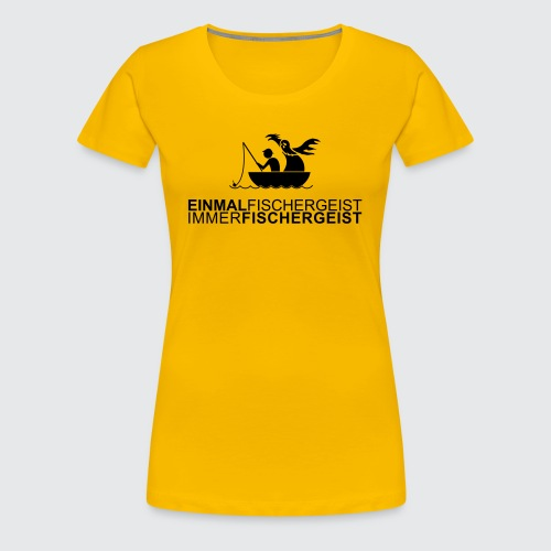 fishermanghost v2 - Frauen Premium T-Shirt