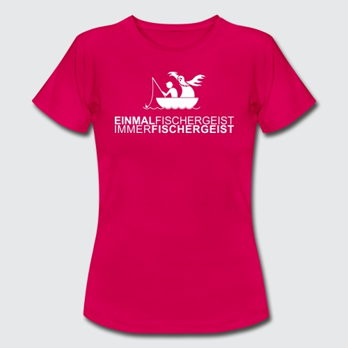 fishermanghost v2 - Frauen T-Shirt