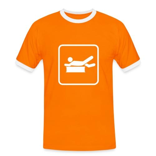 BGSKWR Retro 1 - Männer Kontrast-T-Shirt