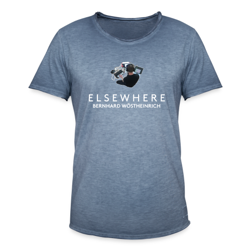 ELSEWHERE - Men's Vintage T-Shirt