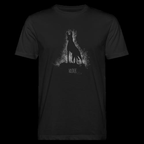 Malinois black&white  - Männer Bio-T-Shirt