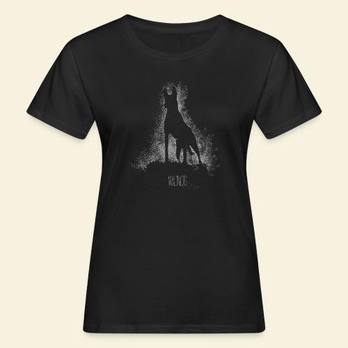 Malinois black&white  - Frauen Bio-T-Shirt