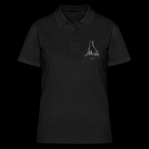 Malinois black&white  - Frauen Polo Shirt